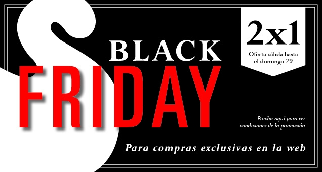 BLACK FRIDAY 2x1